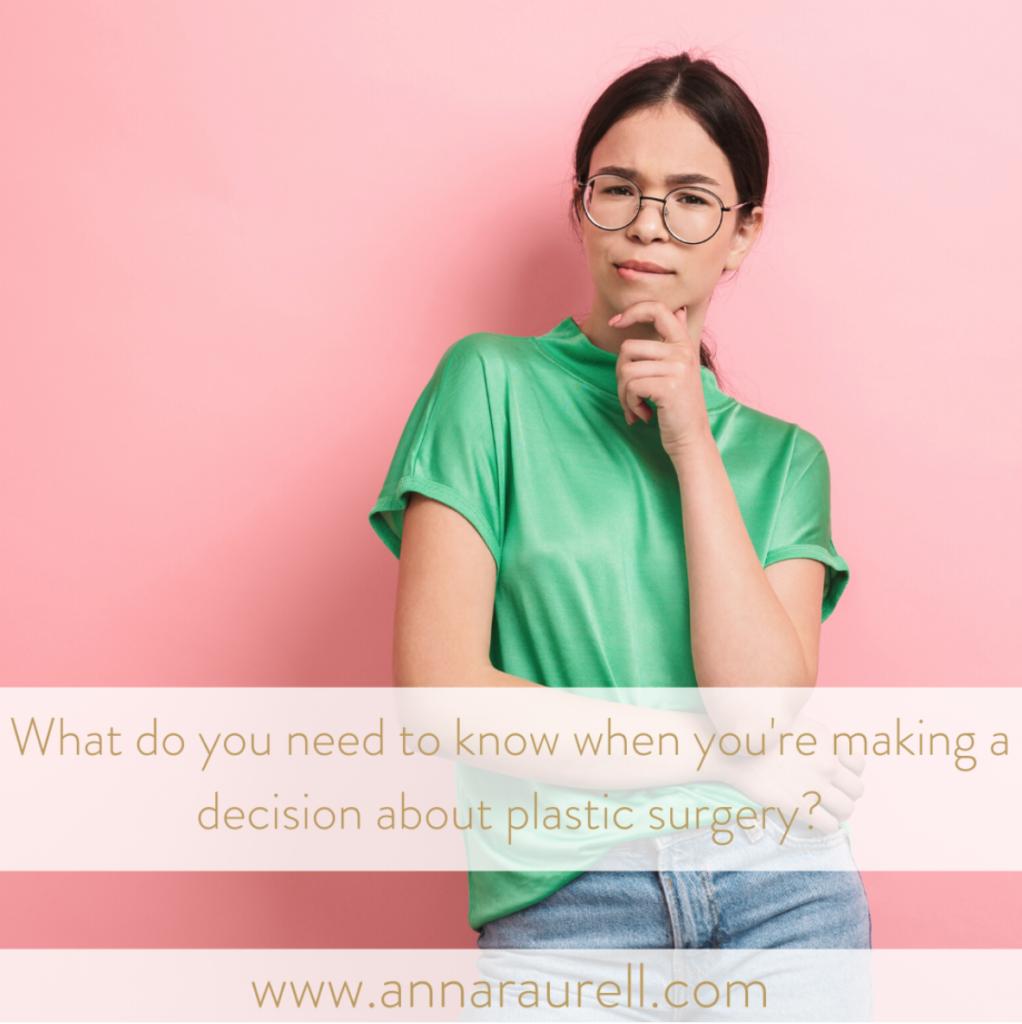 Plastic surgery FAQ